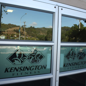 Kensington Gym door signs