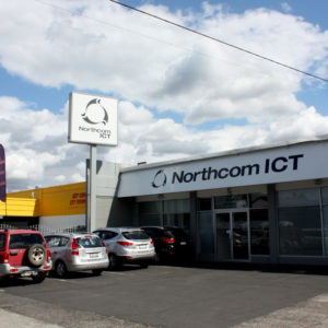 Northcom ICT signage in Whangarei