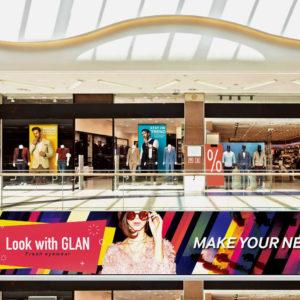 large retail screens