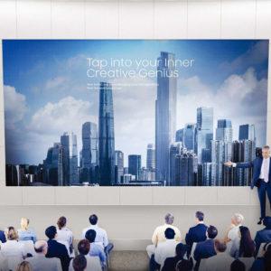 digital screens for presentations