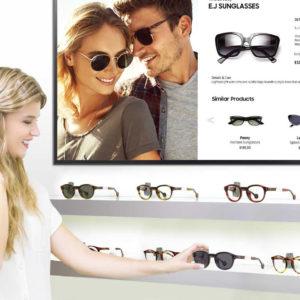 promo screens for optician
