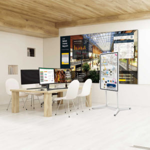 digital displays for offices