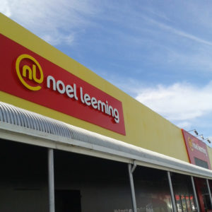 Noel Leeming signage in Whangarei